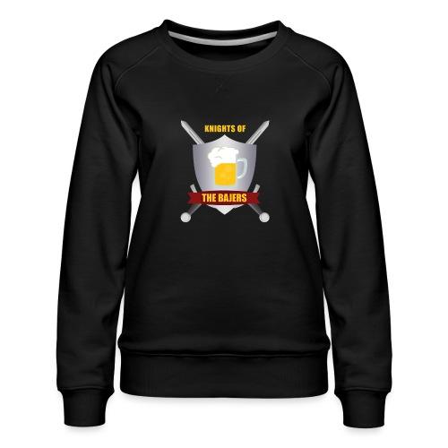 Knights of The Bajers - Dame premium sweatshirt
