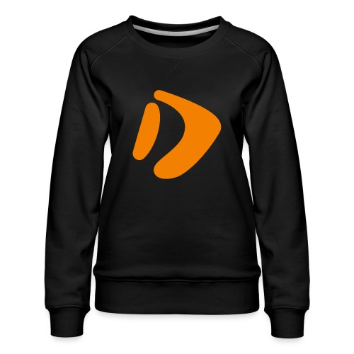 Logo D Orange DomesSport - Frauen Premium Pullover