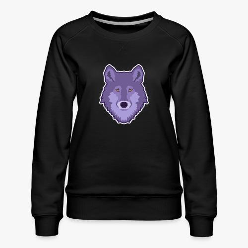 Spirit Wolf - Dame premium sweatshirt