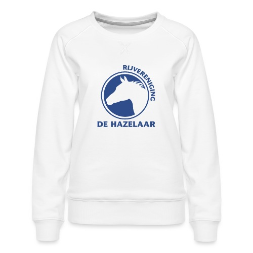 LgHazelaarPantoneReflexBl - Vrouwen premium sweater