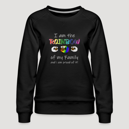 Rainbow Sheep - Frauen Premium Pullover