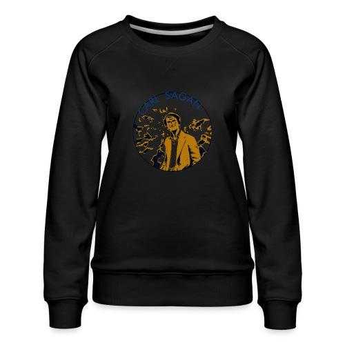 Vintage Carl Sagan - Women's Premium Sweatshirt