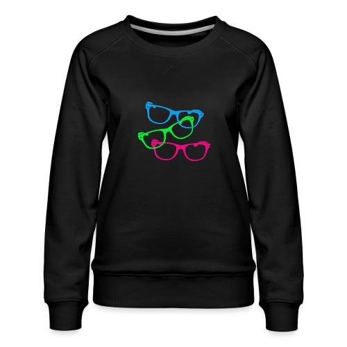 lunettes - Sweat ras-du-cou Premium Femme