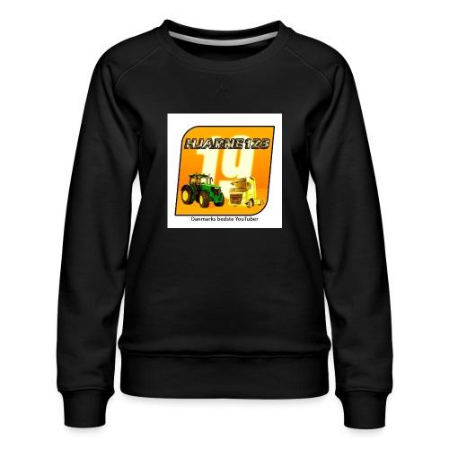 hjarne 123 danmarks bedeste youtuber - Dame premium sweatshirt