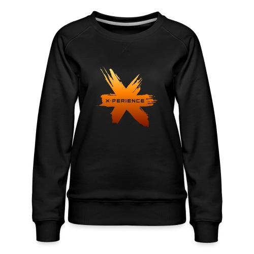X-Perience Orange Logo - Frauen Premium Pullover