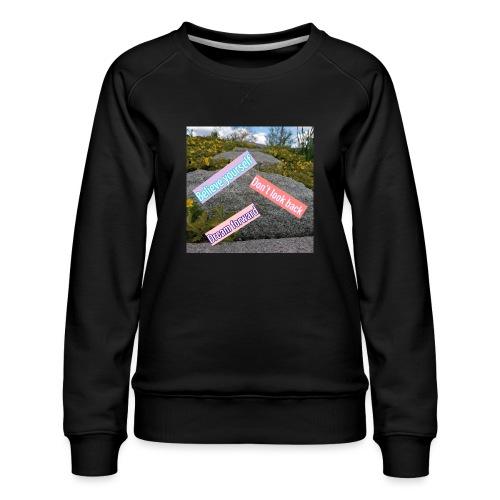 believe yourself - Premiumtröja dam