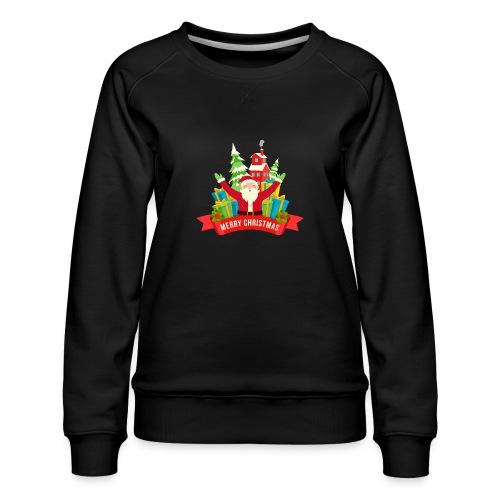 Santa Claus - Sudadera premium para mujer