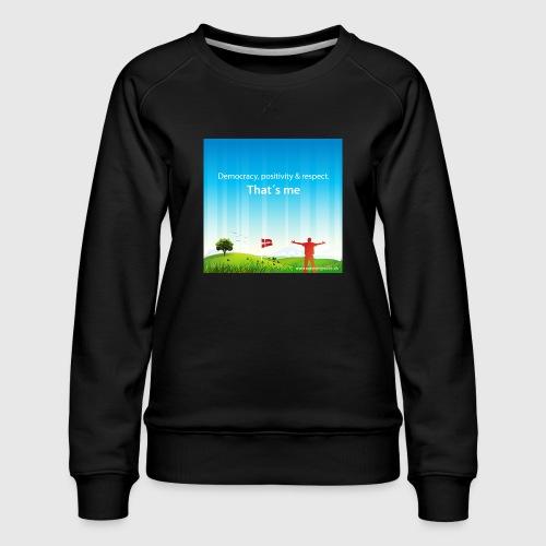 Rolling hills tshirt - Dame premium sweatshirt