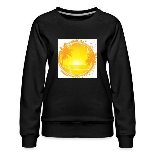 Sunburn - Women's Premium Sweatshirt
