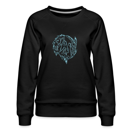 Flying-V-Guitar in thorns - Frauen Premium Pullover