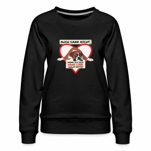 Hundeblick - Frauen Premium Pullover