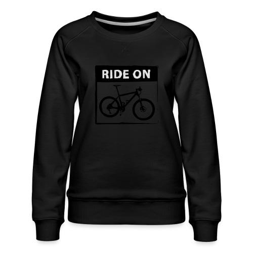Ride On MTB - 2C - Frauen Premium Pullover