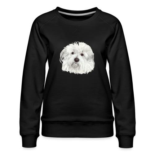 coton-de-tulear - Dame premium sweatshirt