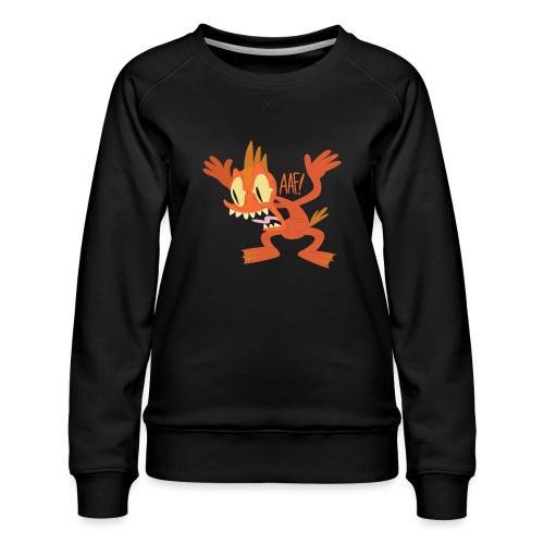 Cyril the Mutant Goldfish - Women's Premium Sweatshirt