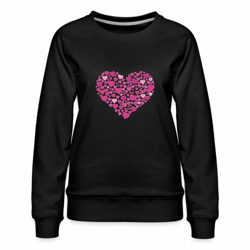 Herz aus Herzal - Frauen Premium Pullover