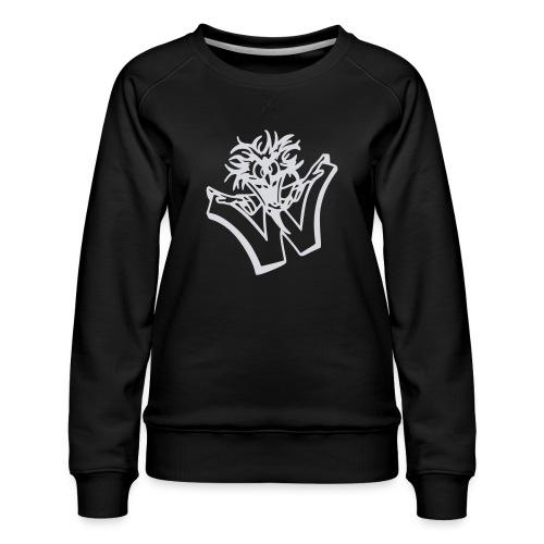 w wahnsinn - Vrouwen premium sweater