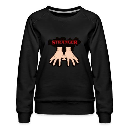 Stranger 'Addams Family' Things - Women's Premium Sweatshirt