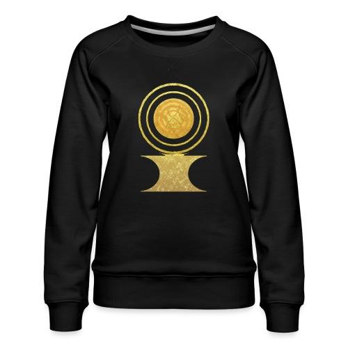 Native America Indianer Symbol Hopi ssl Sonne - Frauen Premium Pullover
