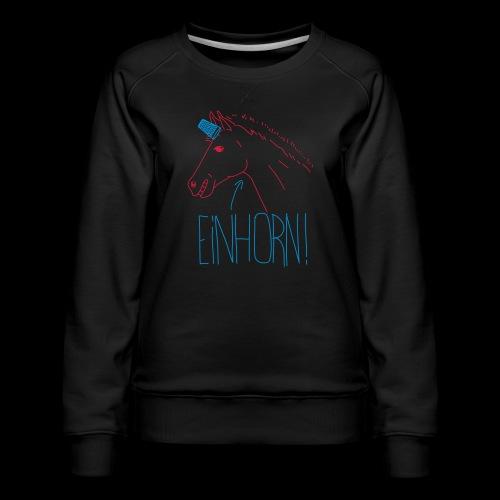 Einhorn - Frauen Premium Pullover