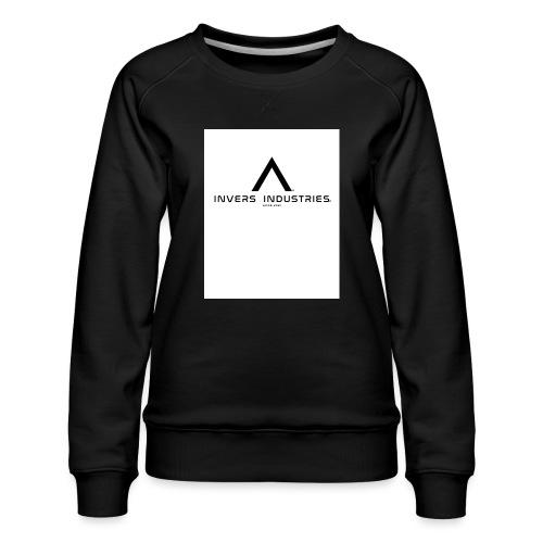 Invers Industries Full White - Women's Premium Sweatshirt