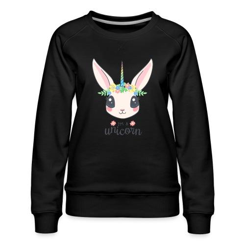 I am Unicorn - Frauen Premium Pullover