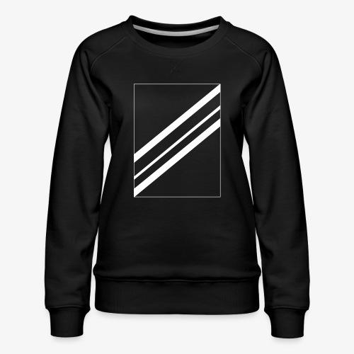 Lines - Vrouwen premium sweater