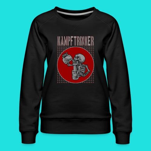 Kampftrinker - Frauen Premium Pullover