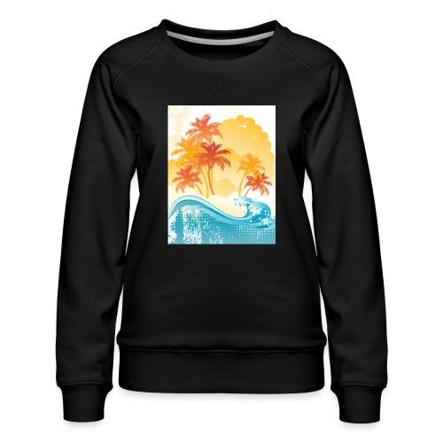Palm Beach - Women's Premium Sweatshirt