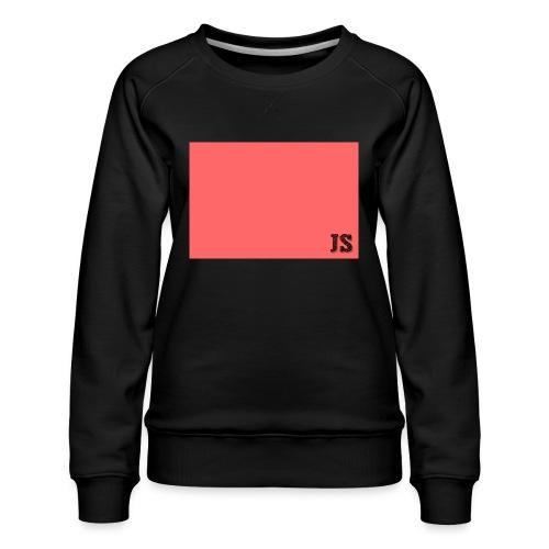 JustSquares Roze - Vrouwen premium sweater