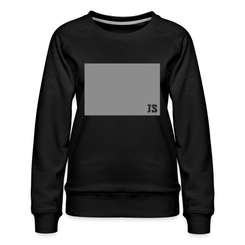 JustSquares Grijs - Vrouwen premium sweater