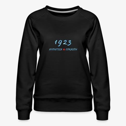 1923 - Sudadera premium para mujer