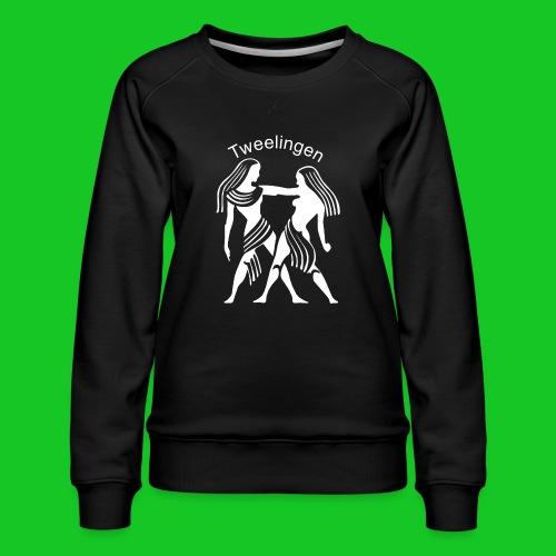 Tweelingen - Vrouwen premium sweater