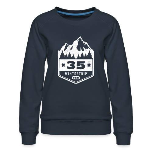 35 ✕ WINTERTRIP ✕ 2021 - Vrouwen premium sweater
