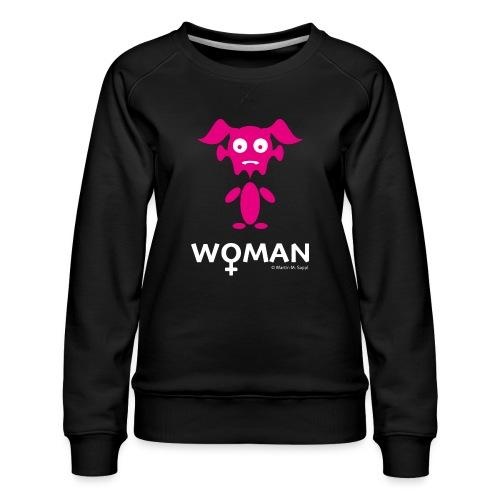 Woman - Frauen Premium Pullover