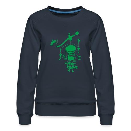 tonearm05 - Vrouwen premium sweater