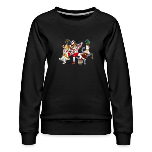 Köln Dreigestirn - Frauen Premium Pullover