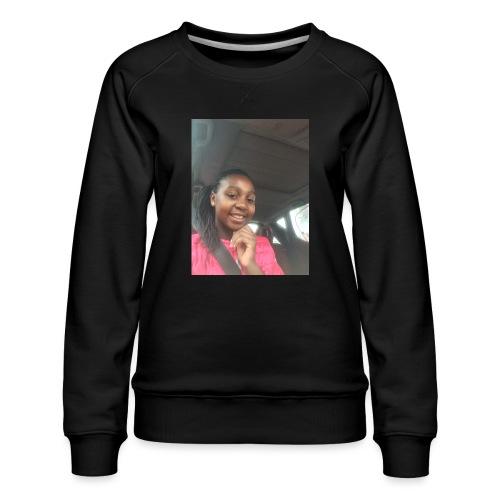 tee shirt personnalser par moi LeaFashonIndustri - Sweat ras-du-cou Premium Femme
