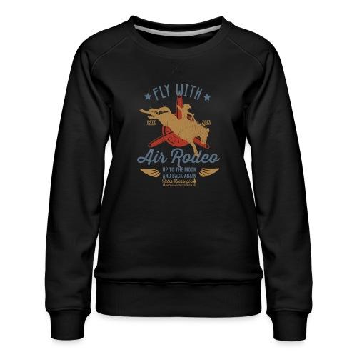 Flieg mit uns - Frauen Premium Pullover