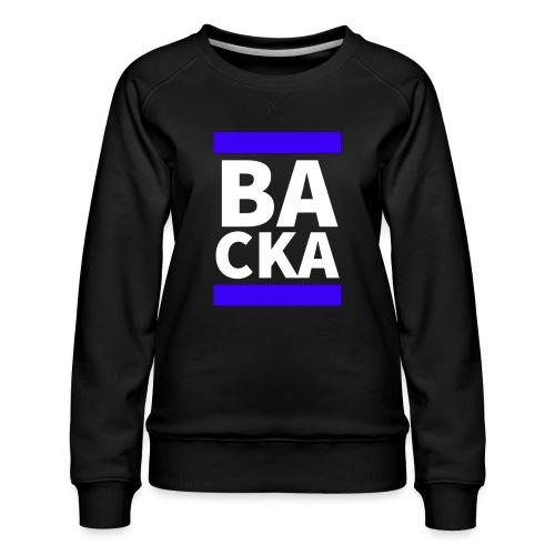 Backa - Premiumtröja dam