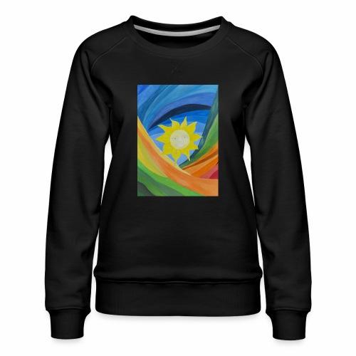 lachende-sonne - Frauen Premium Pullover
