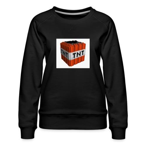tnt block - Vrouwen premium sweater