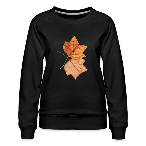 Blätter - Frauen Premium Pullover