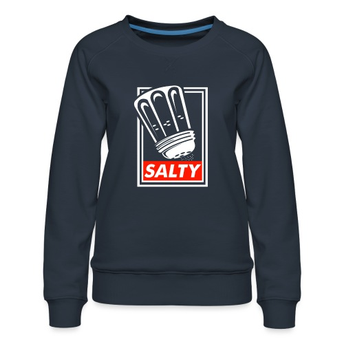 Salty white - Women's Premium Sweatshirt