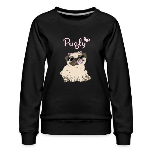 Bella Pug - Premiumtröja dam