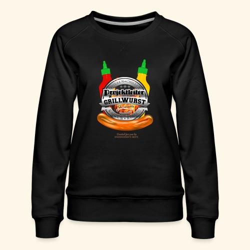 Grillen T Shirt Projektleiter Grillwurst - Frauen Premium Pullover