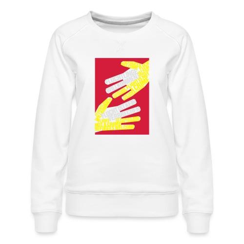Flüchtlinge Willkommen r - Frauen Premium Pullover
