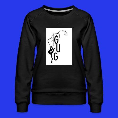 GUG logo - Frauen Premium Pullover