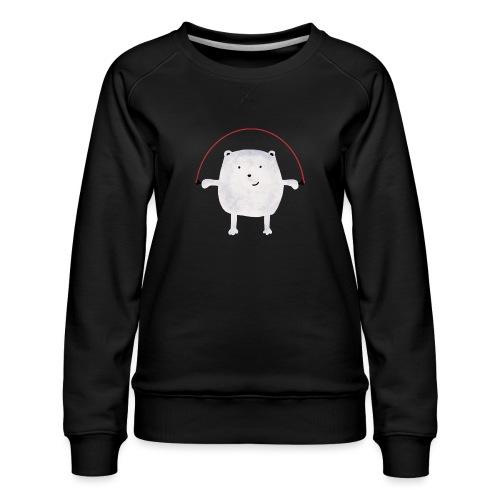 Jumping Monsta by #OneCreativeArts - Frauen Premium Pullover