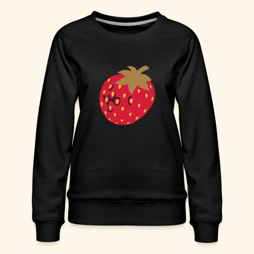 Erdbeere - Frauen Premium Pullover