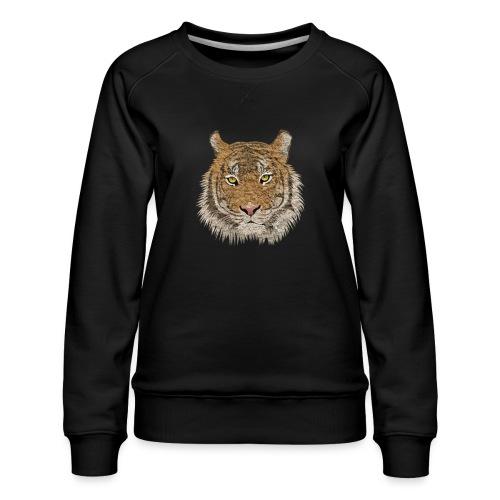 Tiger - Frauen Premium Pullover